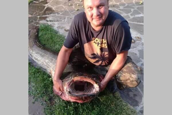 В Самарской области рыбак поймал сома весом 80 кг | CityTraffic
