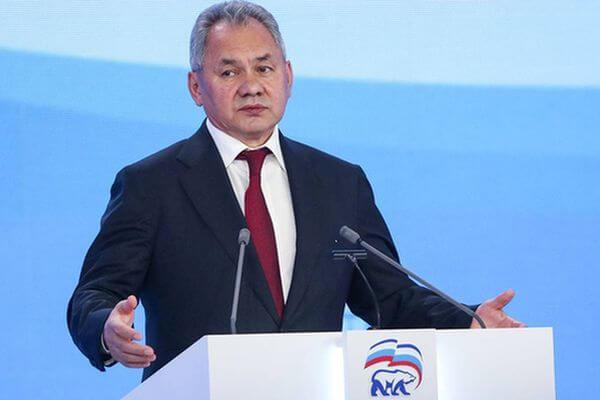 Глава Минобороны РФ Сергей Шойгу рассказал, почему решил войти в партийный список ЕР на выборах в Госдуму | CityTraffic