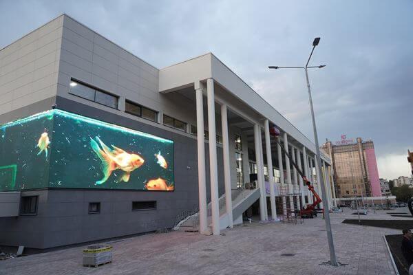 До открытия Дворца спорта вСамаре остались считаные недели