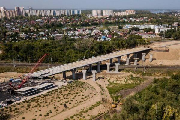 Рабочее движение по развязкам Самарского моста планируют открыть до конца 2021 года | CityTraffic