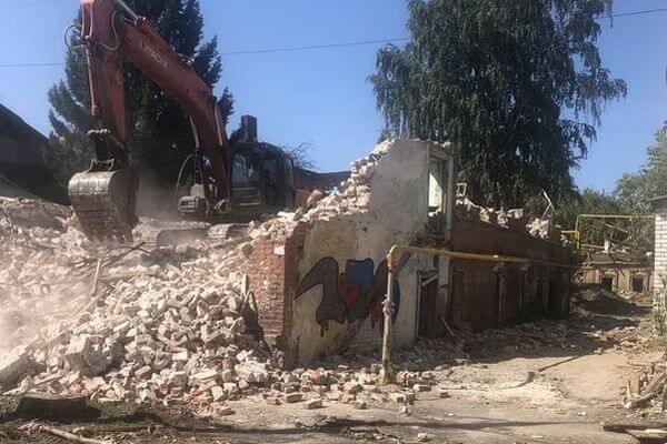 В департаменте имущества Самары рассказали, почему снесли дом на улице Садовой, 128