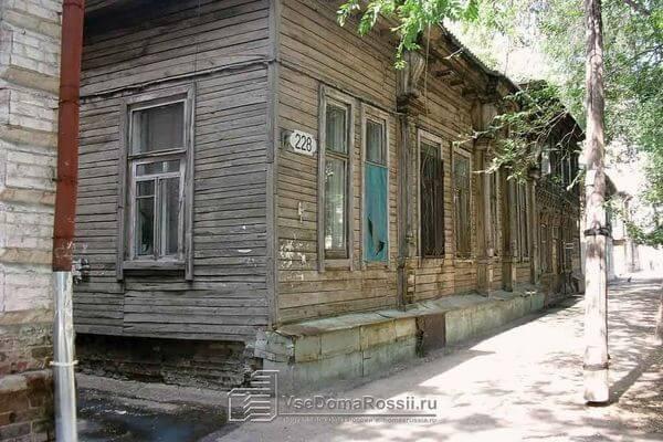 В Самаре могут снести деревянное здание на улице Садовой, 228 | CityTraffic