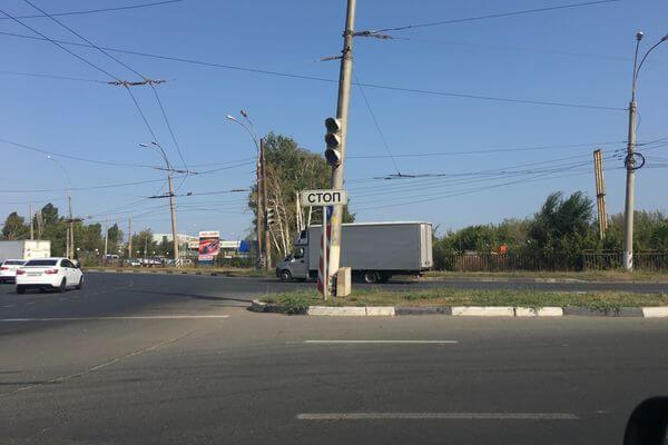 В Тольятти обесточили светофоры | CityTraffic