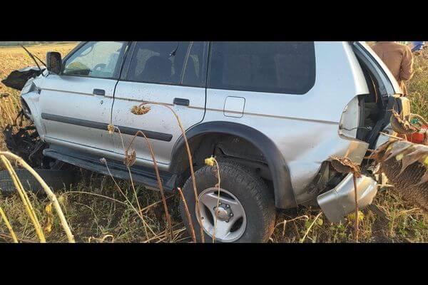 В Самарской области пьяный водитель вылетел в кювет и оказался в больнице | CityTraffic