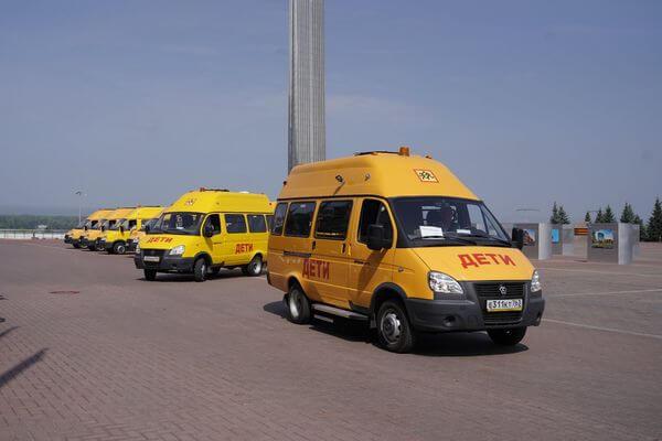 Сельские школы Самарской области получили новые автобусы   CityTraffic