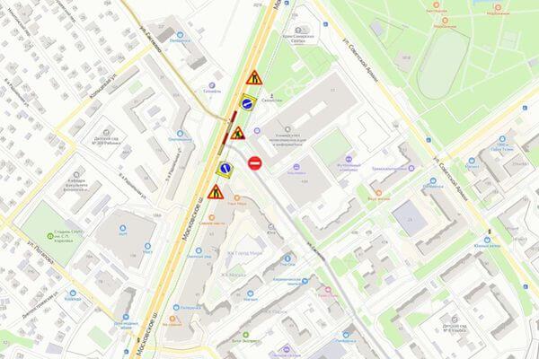 В Самаре с 19 августа закроют часть Московского шоссе   CityTraffic