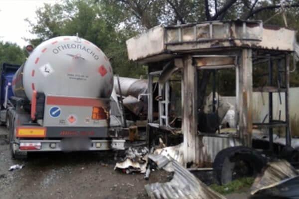 В Самаре возбудили уголовное дело из-за разгерметизации газового баллона наАГЗС