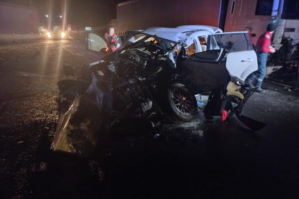 Водитель Audi, женщина-пассажир и ребенок попали в больницу после ДТП на М-5 в Самарской области   CityTraffic