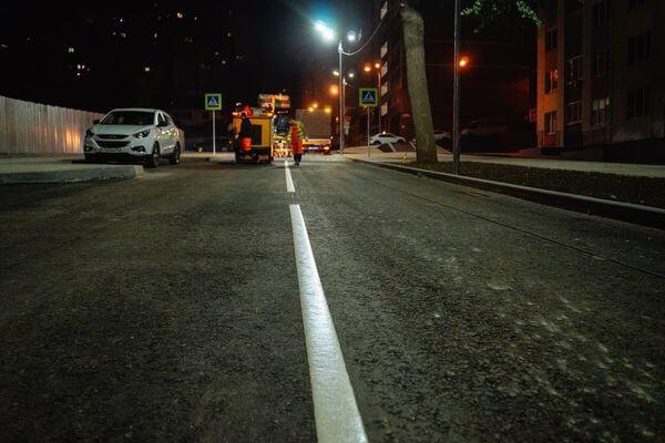 На дороги Самары нанесено 85% новой разметки | CityTraffic
