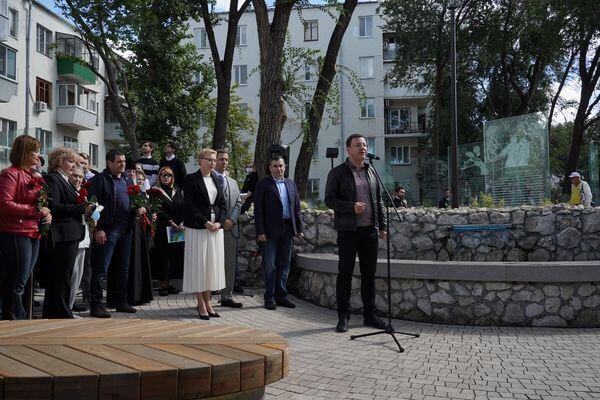 В Самаре открыли Аксаковский сквер | CityTraffic