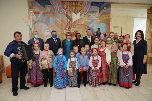 В Новокуйбышевске после ремонта начала работать детская музыкальная школа имени Юрия Башмета