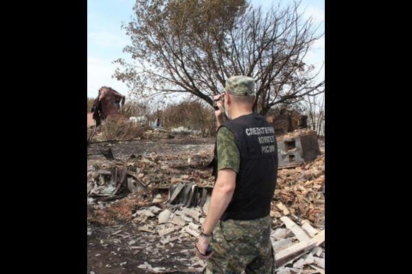 Житель Самарской области сжег дом вместе с человеком | CityTraffic