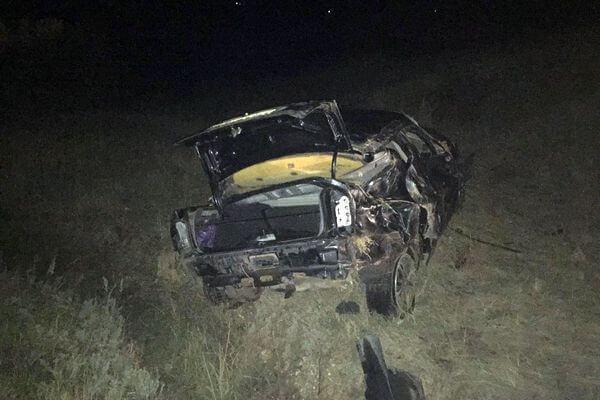 Пассажиры погибли, водитель сбежал с места аварии в Самарской области   CityTraffic