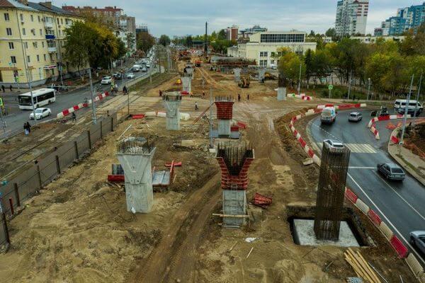 В Самаре с 25 сентября перекроют движение по улице Ново-Садовой из-за строительства путепровода | CityTraffic