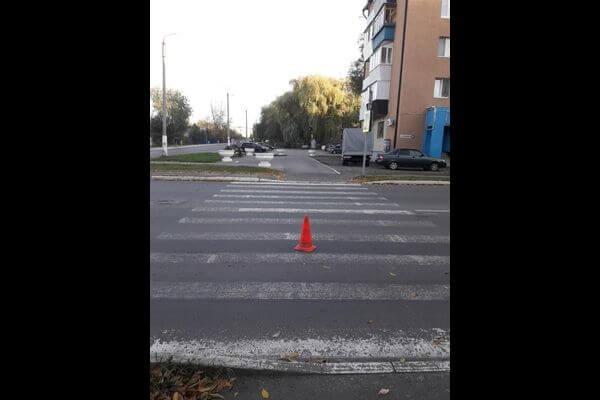 В Чапаевске пенсионерка на иномарке сбила мужчину на переходе
