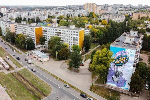 Самарский мурал претендует на победу в конкурсе стрит-арта в ПФО | CityTraffic