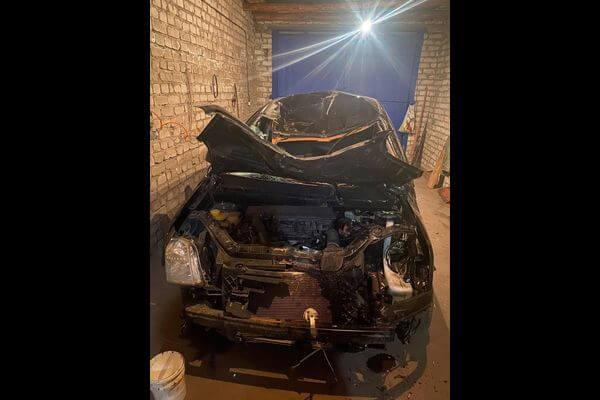 Между селами в Самарской области пенсионер съехал в кювет и разбил машину | CityTraffic