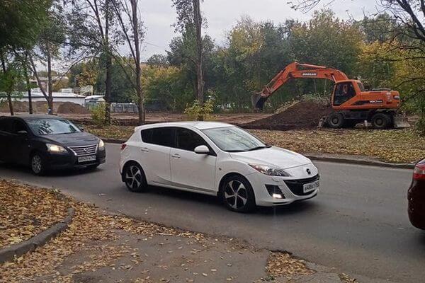 Жители Самары заподозрили, что на улице Ташкентской готовится стройка | CityTraffic